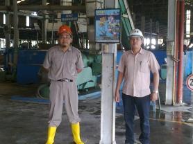 Safety Poster - Pabrik Karet PT. BSP