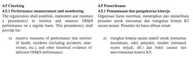 Klausul OHSAS