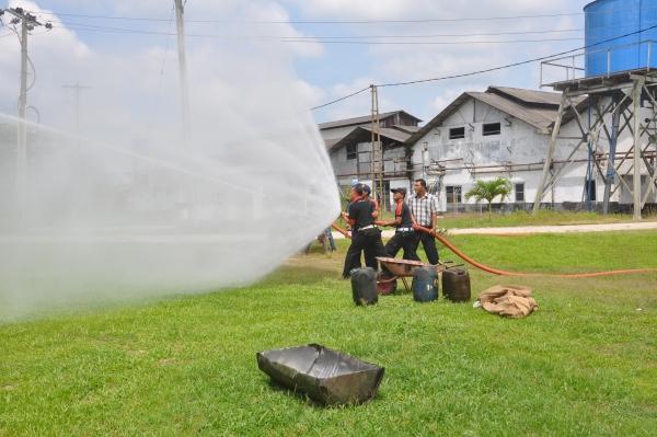 Simulasi Hydrant Spray